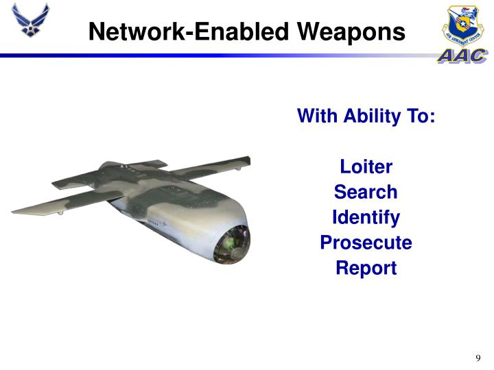 Network-Enabled Weapons