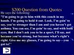 200 question from quotes