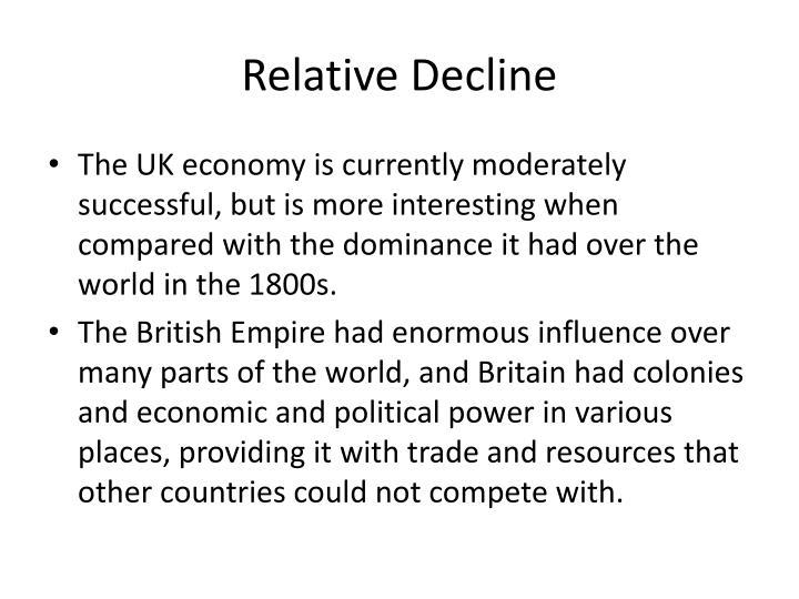 Relative Decline