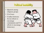 political instability