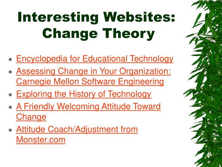 Interesting Websites: