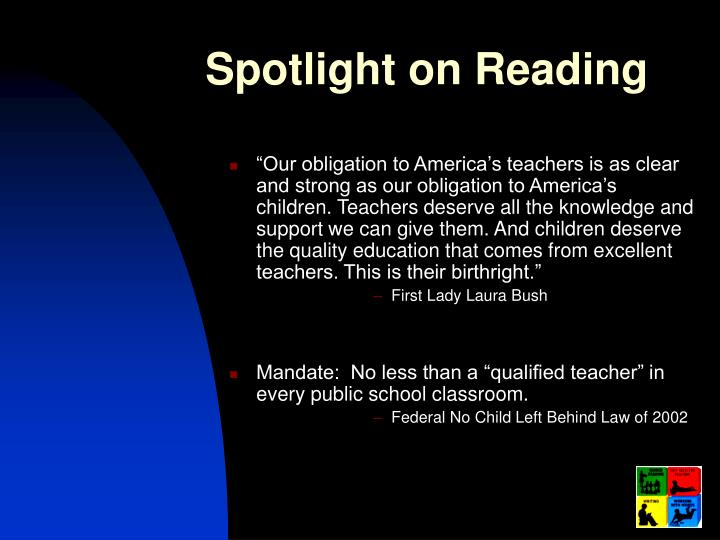 Spotlight on Reading
