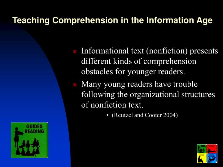 Teaching Comprehension in the Information Age