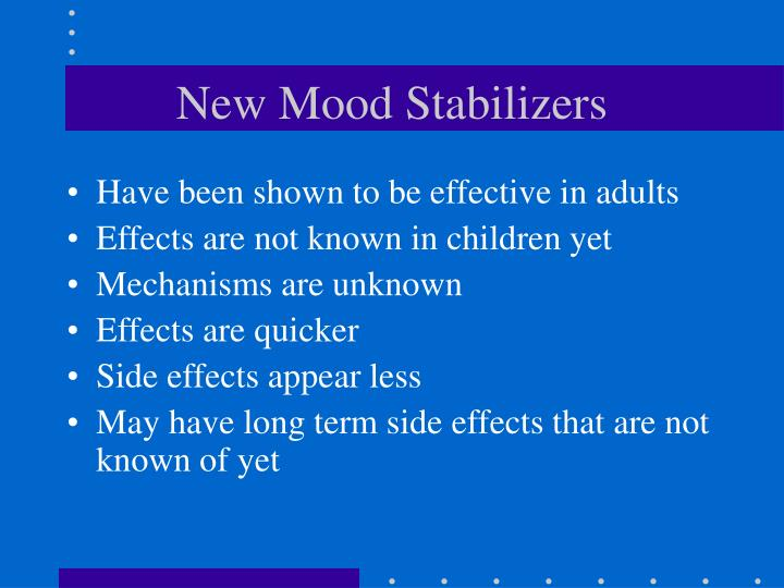 New Mood Stabilizers