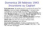 domenica 28 febbraio 1943 incursione su cagliari