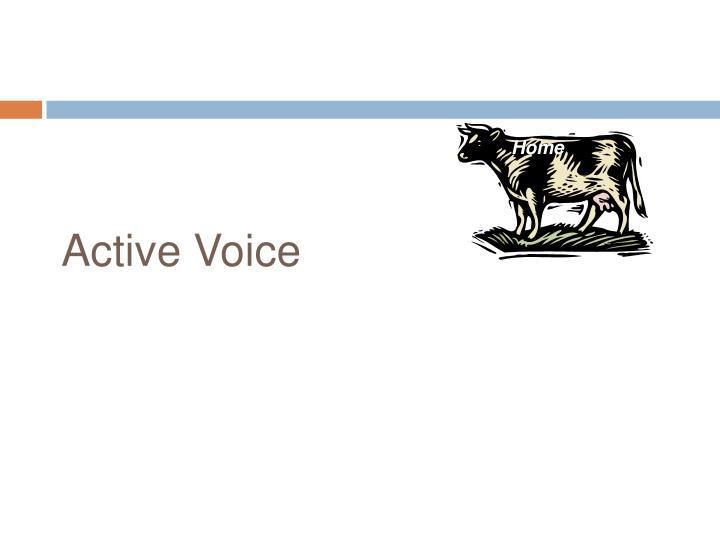 Active Voice