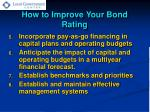 how to improve your bond rating1