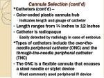 cannula selection cont d2