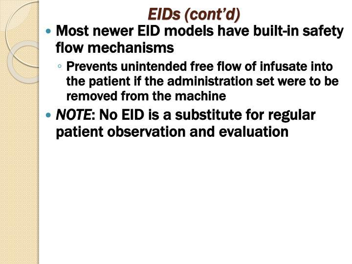 EIDs (cont'd)