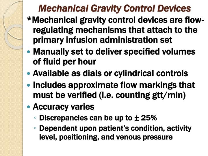 Mechanical Gravity Control Devices