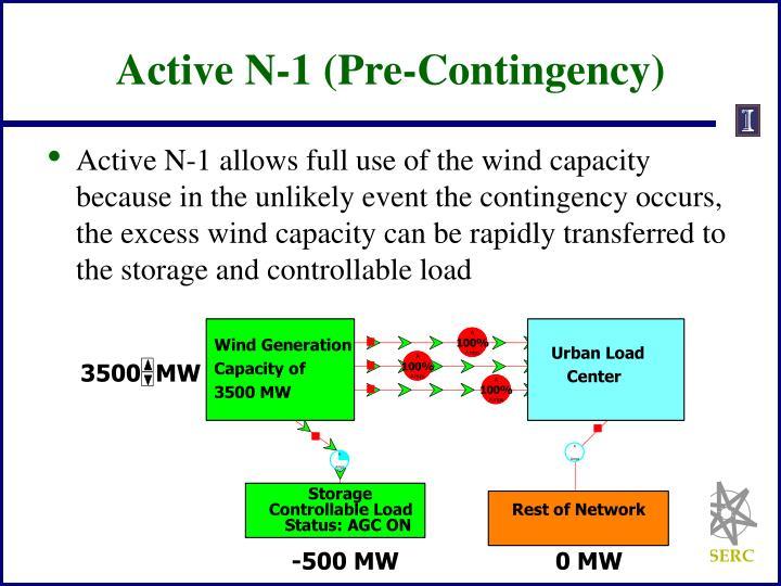 Active N-1 (Pre-Contingency)