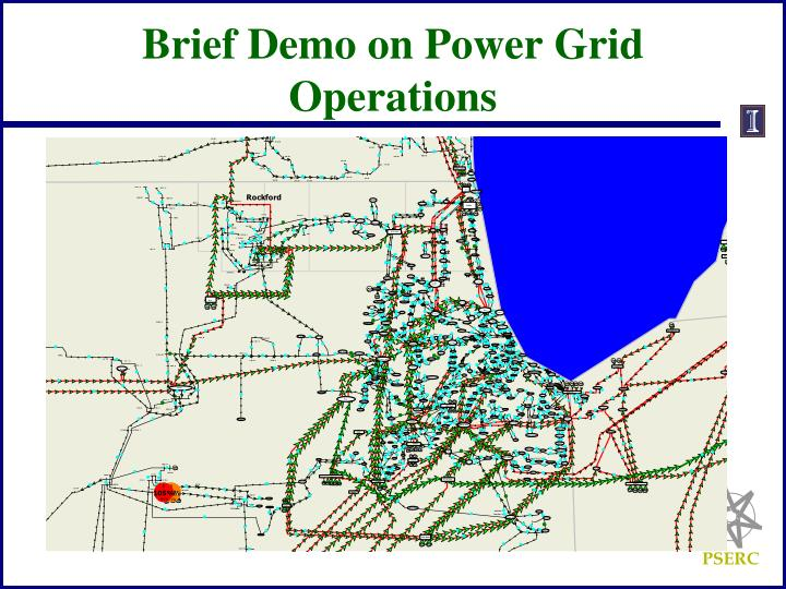 Brief Demo on Power Grid Operations