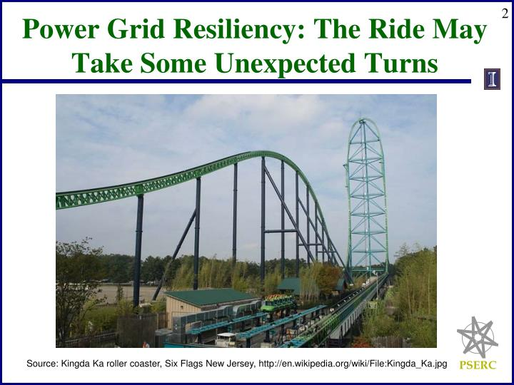 Power Grid Resiliency: The Ride May Take Some Unexpected Turns