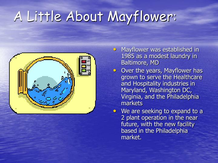 A Little About Mayflower