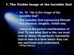 1 the visible image of the invisible god1