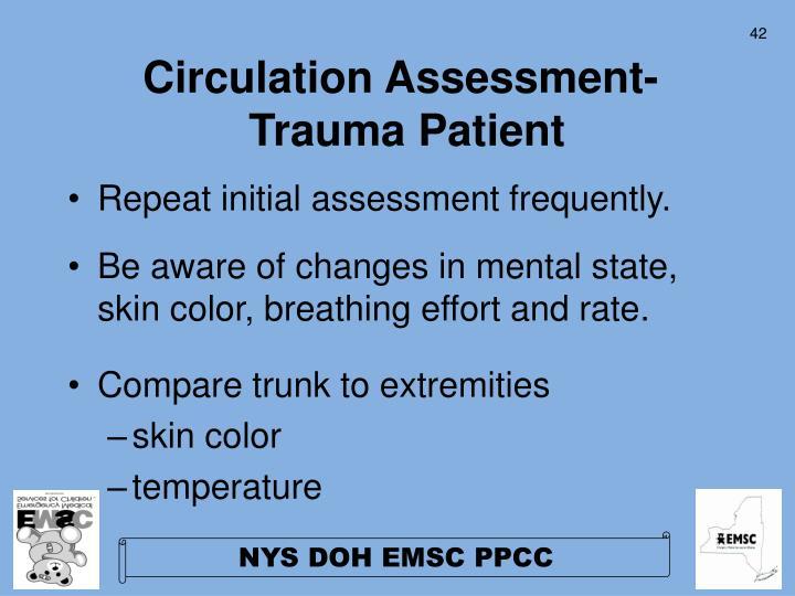 Circulation Assessment-