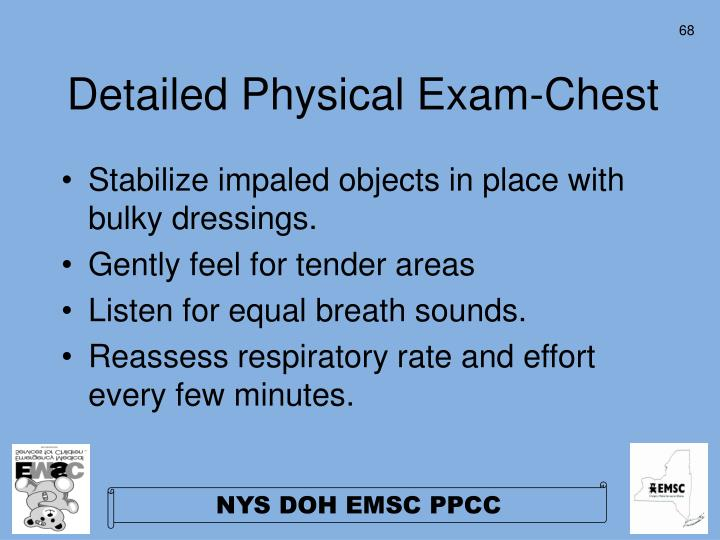 Detailed Physical Exam-Chest