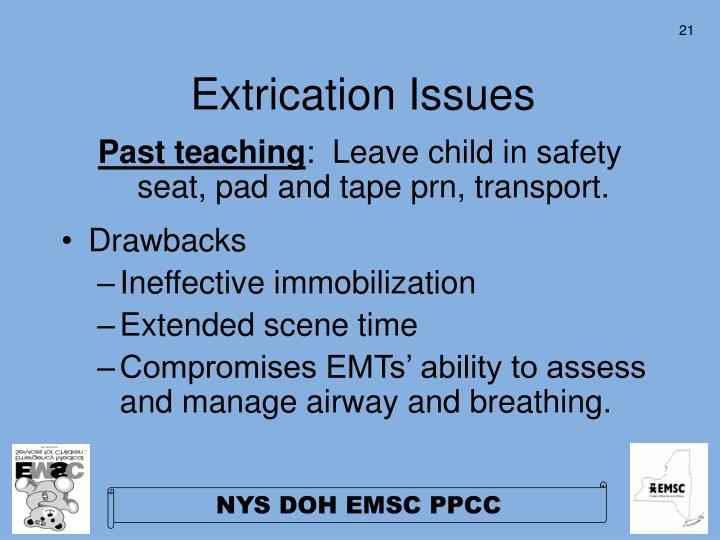 Extrication Issues