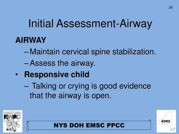 Initial Assessment-Airway