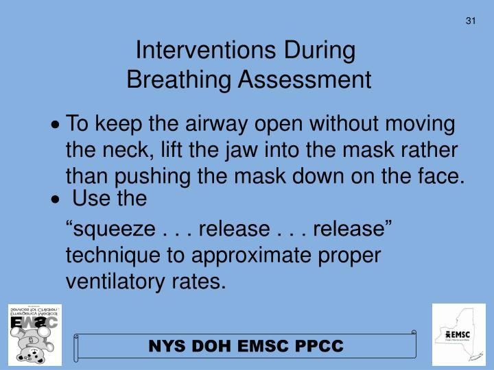 Interventions During