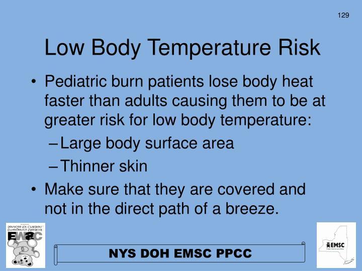 Low Body Temperature Risk