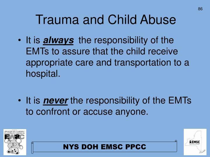 Trauma and Child Abuse
