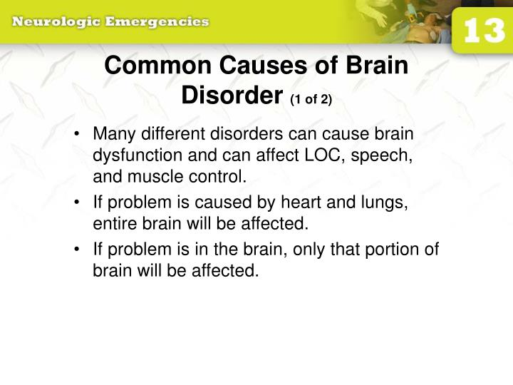 Common Causes of Brain