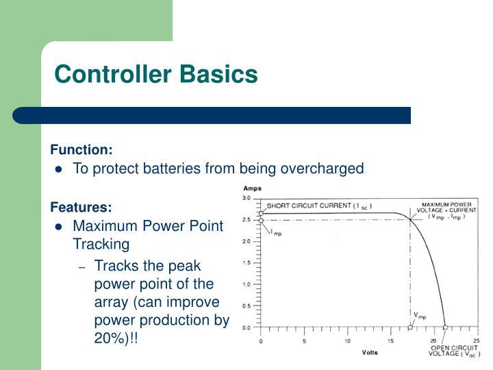 Controller Basics