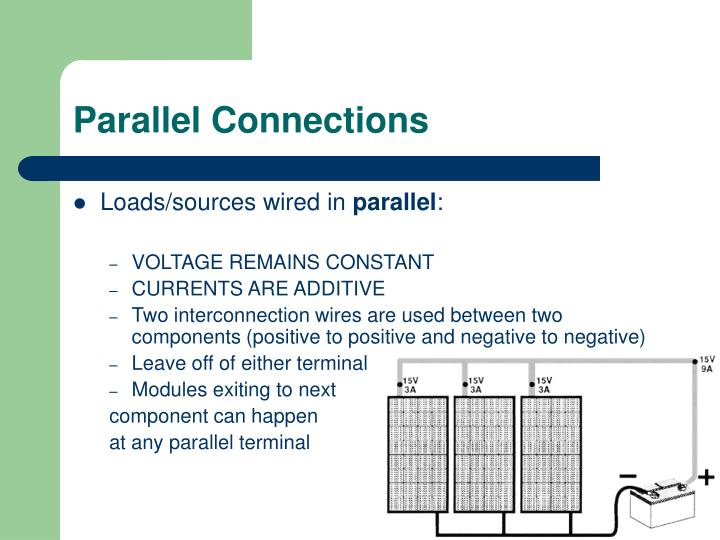 Parallel Connections