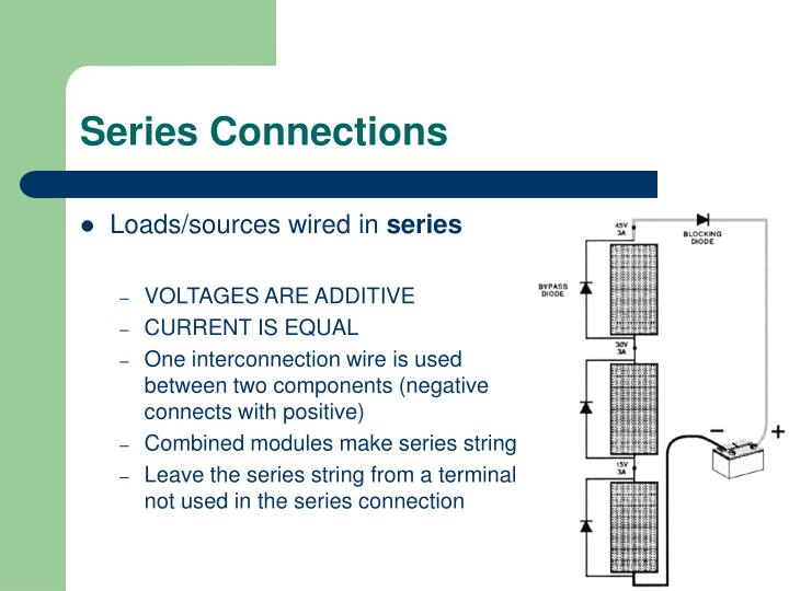 Series Connections