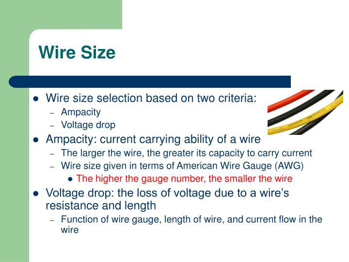Wire Size