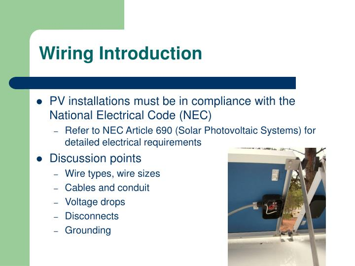 Wiring Introduction