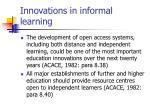 innovations in informal learning10