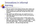 innovations in informal learning24