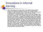 innovations in informal learning26