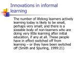 innovations in informal learning3