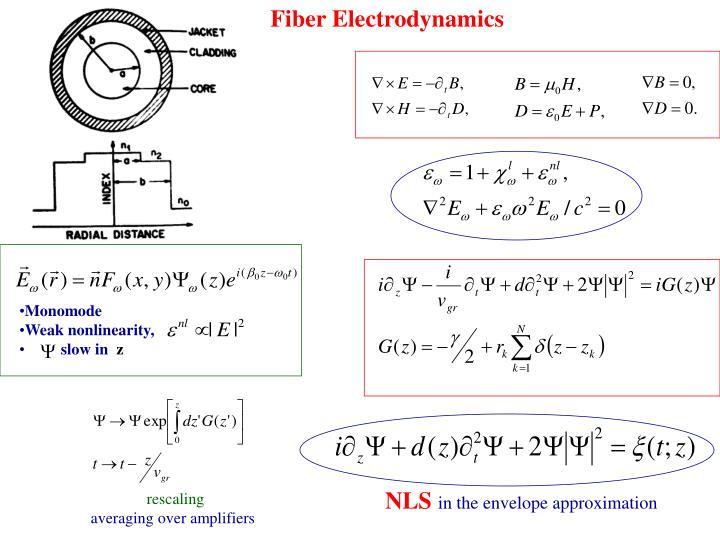 Fiber Electrodynamics