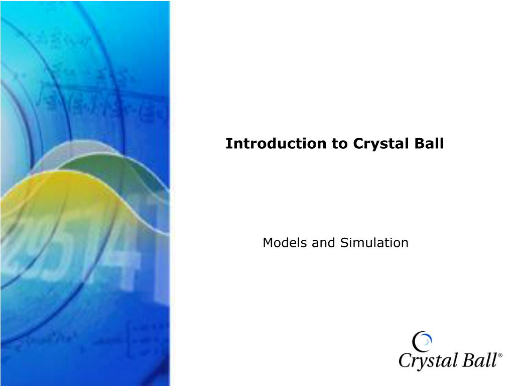Crystal Ball Training