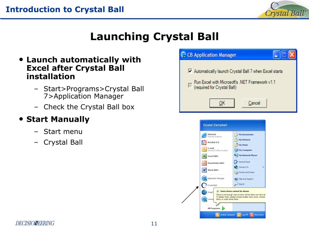 Launching Crystal Ball