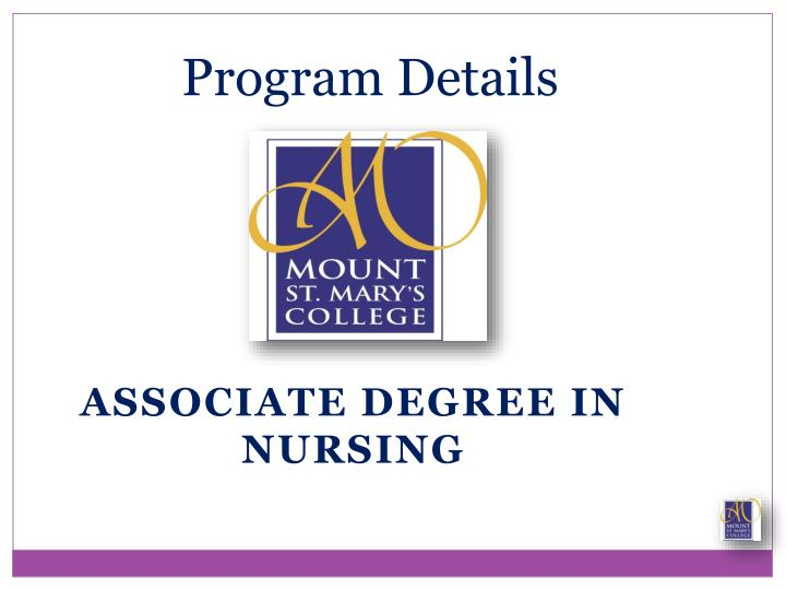 Associate Degree in