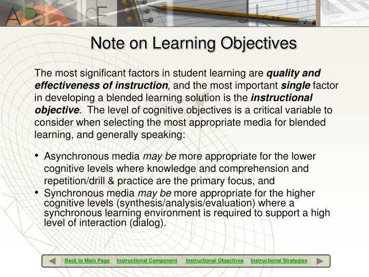 The most significant factors in student learning are