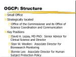 ogcp structure