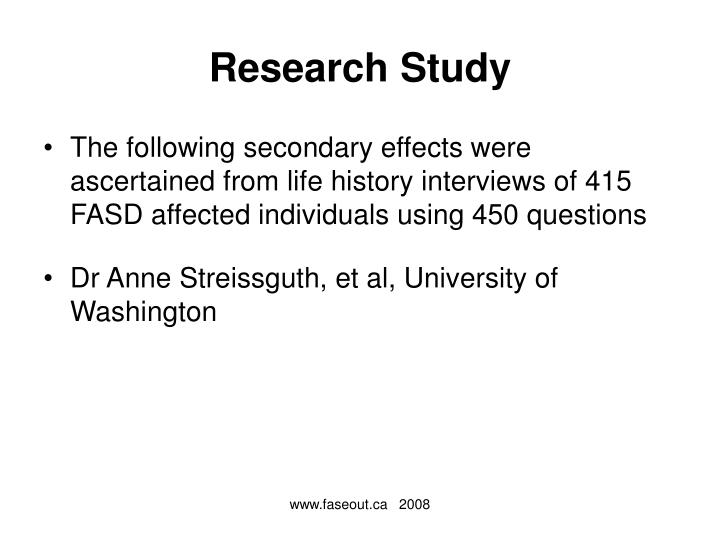 Research study