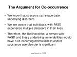 the argument for co occurrence1