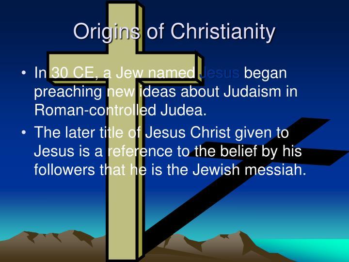 Origins of Christianity