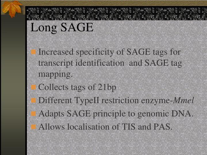 Long SAGE
