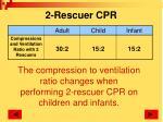 2 rescuer cpr