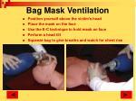 bag mask ventilation