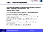 fud the consequences