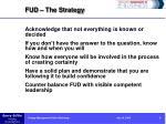 fud the strategy